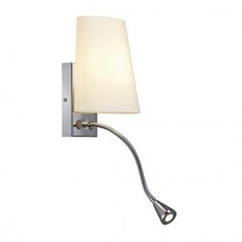 SLV Applique liseuse chambre Coupa Flex LED H24 cm Chrome 5 Incroyable Applique Liseuse Chambre Kdh6