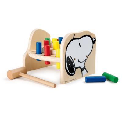 Banc en bois à marteler Penauts Snoopy