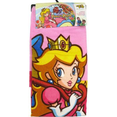 Kiddi Play Serviette Princesse Peach - Serviette de plage pour gamer