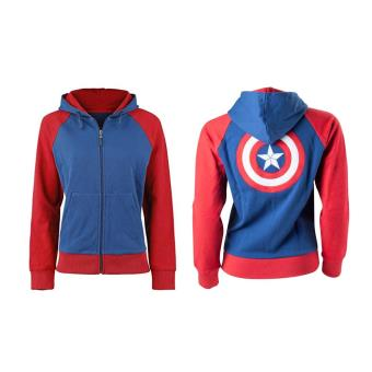 0206790396a25 sweat captain america femme,avengers captain america distressed ...
