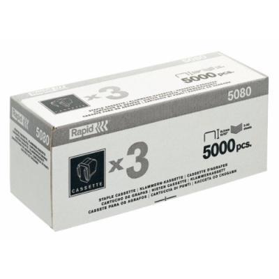 Rapid r5080 agrafes cassette x 5000 20993700
