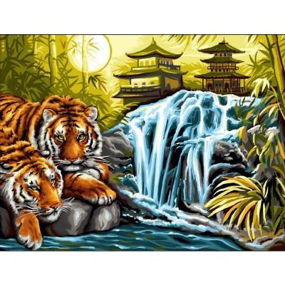 Oz International - Peinture au numéro - Initiés : Sérénité