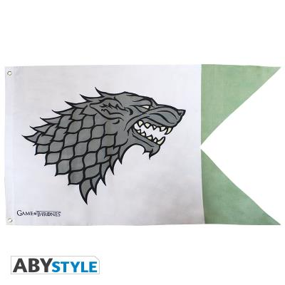 Game of thrones - drapeau stark (7020) abydct015
