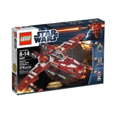LEGO STAR WARS TM - 9497 - JEU DE CONSTRUCTION - RÉPUBLIQUE STRIKER-CLASS STARFIGHTER TM