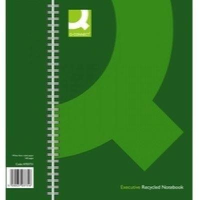 Q Connect à spirale Format A4 recyclé à livre – noir