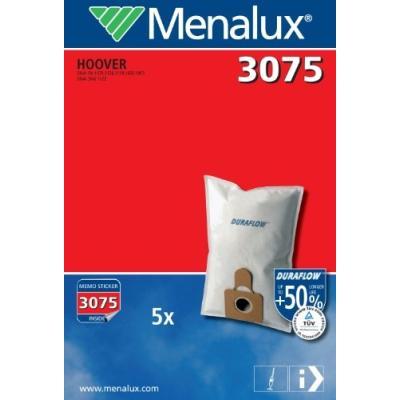 MENALUX 3075 5 SACS ASPIRATEUR COMPATIBLE POUR HOOVER DIVA