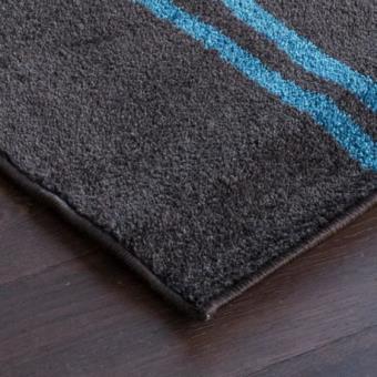 COSI Tapis de salon marron-bleu 120x170 cm - Achat & prix | fnac