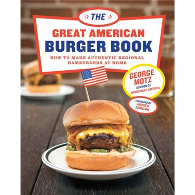 The Great American Burger Book (Hardcover)