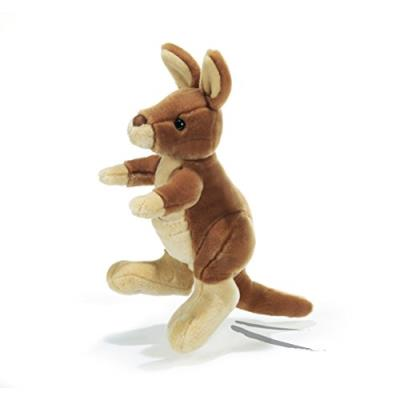 Plush&company - 15775 - peluche - kuoq kangourou - 30 cm