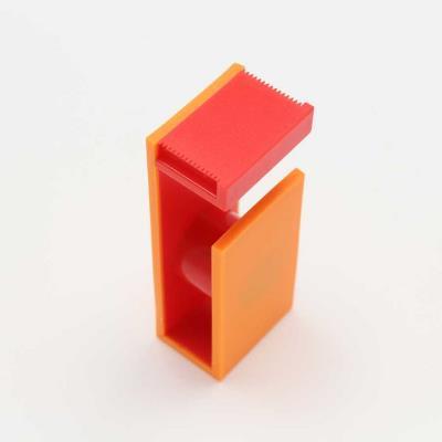 Dérouleur magnétique pour Masking Tape - orange & rouge