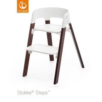 chaise et Stokke® noyer réhausseurs hautes Chaises steps EH9WD2I