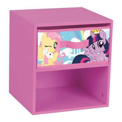 Table de chevet avec tiroir my little pony fun house
