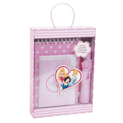 Set papeterie Disney Princesse en coffret