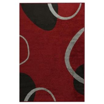 cosi tapis de salon rouge 160x220 cm achat prix fnac - Tapis De Salon Rouge
