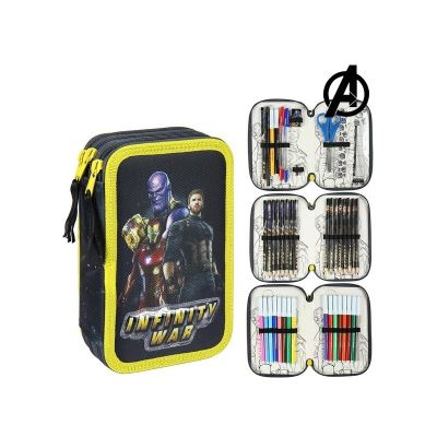 Pochette à crayons triple The Avengers 78650