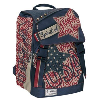 Backpack extensible spirit usa classic boy cm 40x28x13