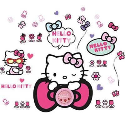 Sticker sonnette Hello Kitty