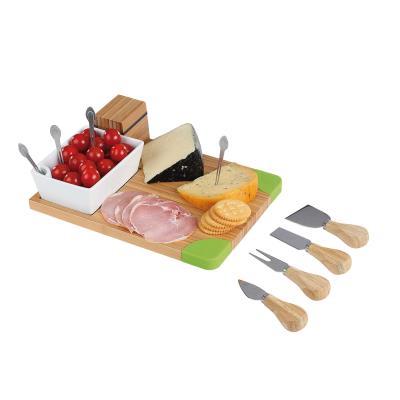 Set apéritif et fromage 10 pièces vert kitchen artist mes111