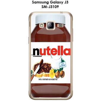 Coque Samsung Galaxy J3 - SM-J3109 design Nutella