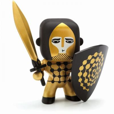 Figurine Arty Toys : Les chevaliers : Golden knight Djeco