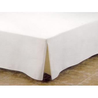 Cache sommier 90x200 cm LINEHI blanc   Achat & prix | fnac
