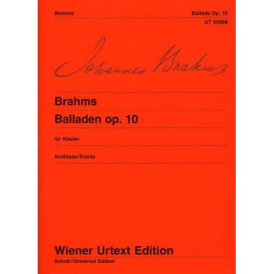Ballades Op.10 - Piano