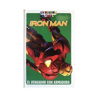 Iron man-vengador con armadura-marv