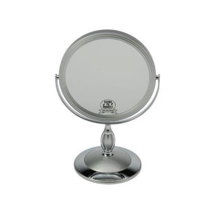 Fantasia 43007 Miroir grossissant x 7 sur pied Argenté 29 x 17 cm