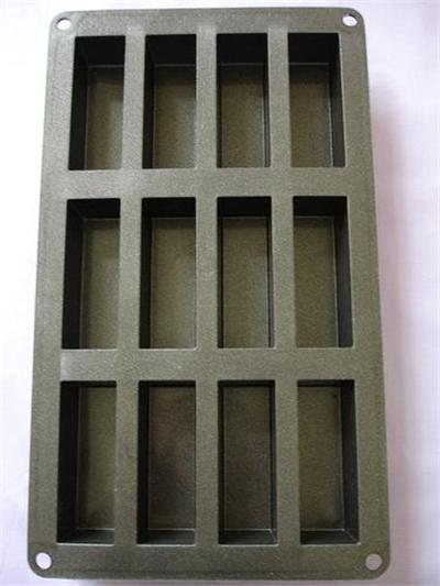 Patisse moule mini cake 12p.silicon.metal*19190