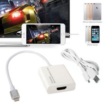 CABLING 2 en 1 adaptateur de Lightning pour iPhone 77