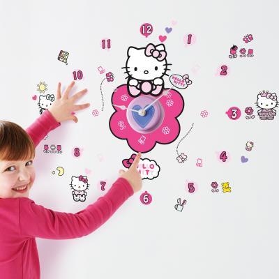 Stickers horloge Hello Kitty
