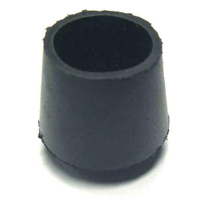 Strauss - Embout de meuble caoutchouc noir Ø 30 mm - Lot de 20