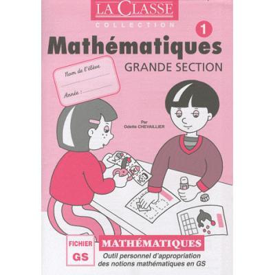 Mathématiques Grande Section. Pack en 2 volumes Tomes 1 et 2