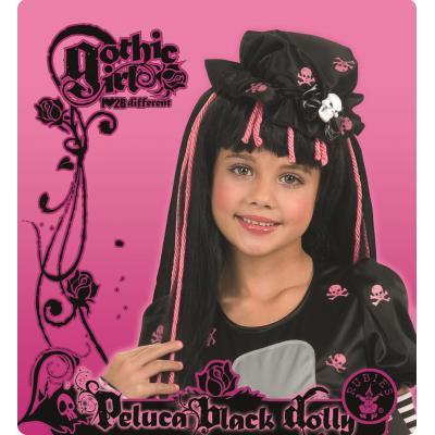 Perruque Enfant Gothic Chic