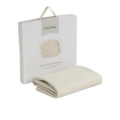 The little green sheep organic waterproof mattress protector (cot size)
