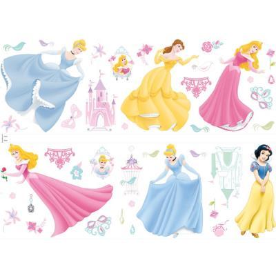 41 Stickers muraux Bijoux Princesse Disney