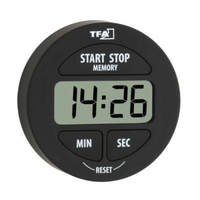 TFA 38.2022.01 Minuteur électronique avec chronomètre