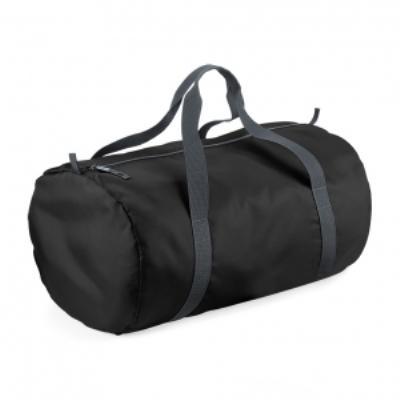 Sac de voyage toile ultra léger pliant - Packaway Barrel Bag - BG150 - noir