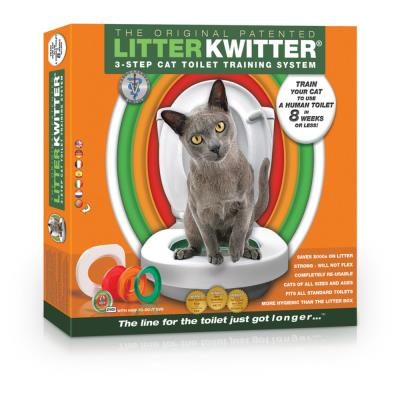 Litter Kwitter - Kit de Toilette pour Chat