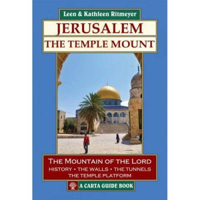 Jerusalem -The Temple Mount - [Livre en VO]