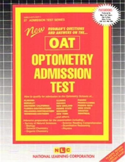 Optometry Admission Test, Admission Test Series