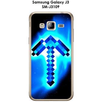 Coque Samsung Galaxy J3 - SM-J3109 design Minecraft - 3