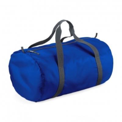 Sac de voyage toile ultra léger pliant - Packaway Barrel Bag - BG150 - bleu roi