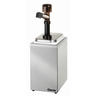 Pompe à sauce 1 pompe avec 1 bac x 3,3L