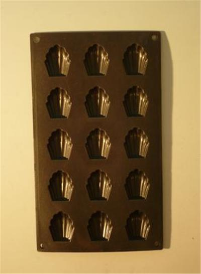 Patisse moule mini madeleine 15p.sil.metal*19231