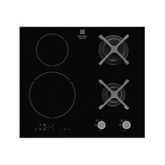 Electrolux Egd6576nok Table De Cuisson Mixte Induction Et Gaz 60 Cm Noir