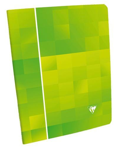Cahier Piqué 4/10° 24x32cm 96 pages Seyès 4 coloris assortis