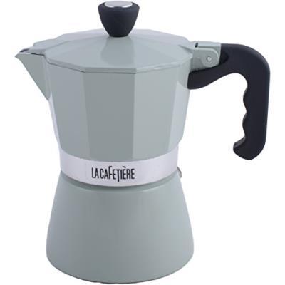 La cafetière - 3 tasses à expresso machine à café percolateur, pistache