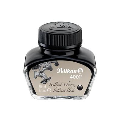 Pelikan encre 4001 flacon dencre 30 ml noir brillant 301051