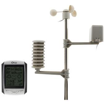 17 sur centrale meteo avec anemometre et pluviometre otio 810039 station m t o thermom tre. Black Bedroom Furniture Sets. Home Design Ideas